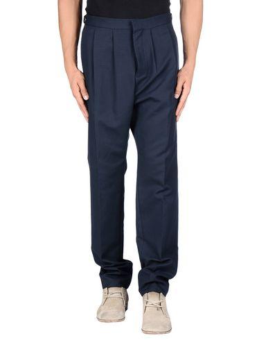 Umit Benan Casual Pants In Dark Blue