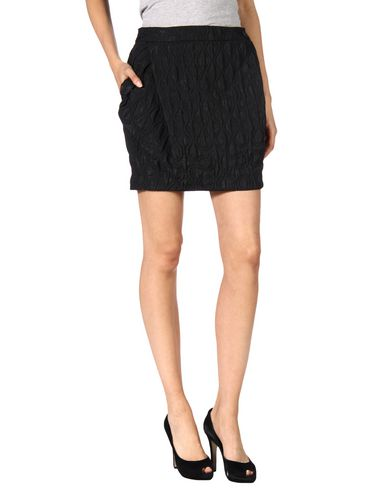 Vivienne Westwood Anglomania Mini Skirt In Black