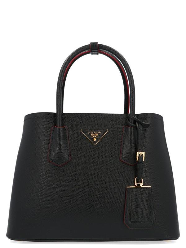 Prada Women's Black Leather Handbag