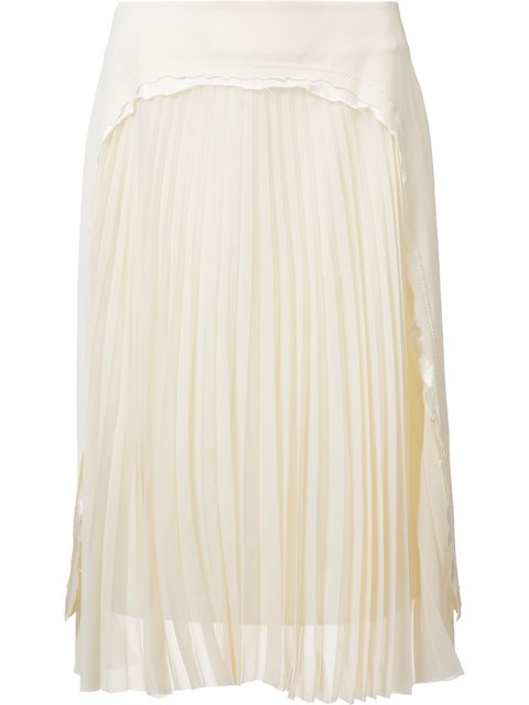 Maison Margiela Pleated Panel Skirt