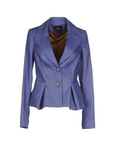 Vivienne Westwood Anglomania Blazer In Slate Blue