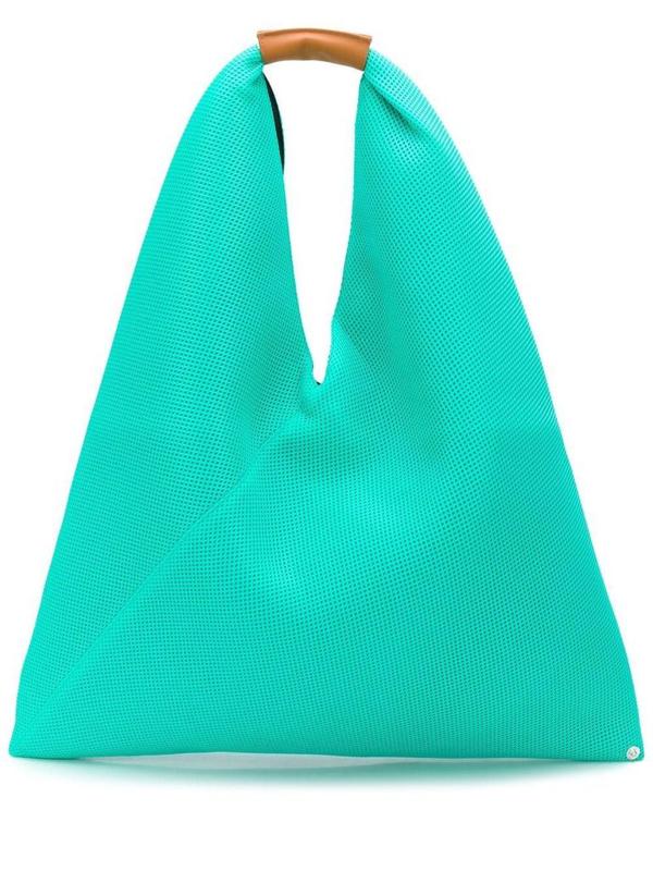 Mm6 Maison Margiela Maison Margiela Women's Green Polyester Shoulder Bag