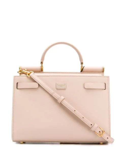 Dolce & Gabbana Top Handle Tote Bag In Pink