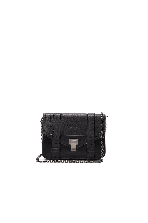 Proenza Schouler Ps1 Chain Wallet In Black