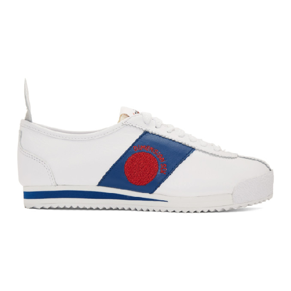 Nike Cortez '72 S.D. Sneaker In 101 Whtred