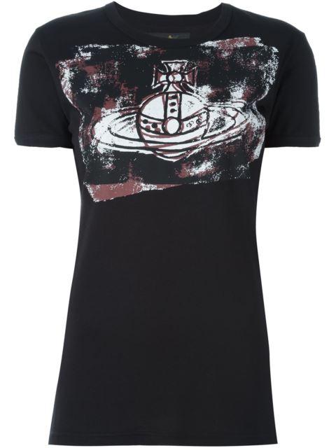 Vivienne Westwood Anglomania Logo Print T-shirt