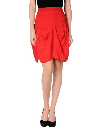 Vivienne Westwood Anglomania Knee Length Skirt In Red