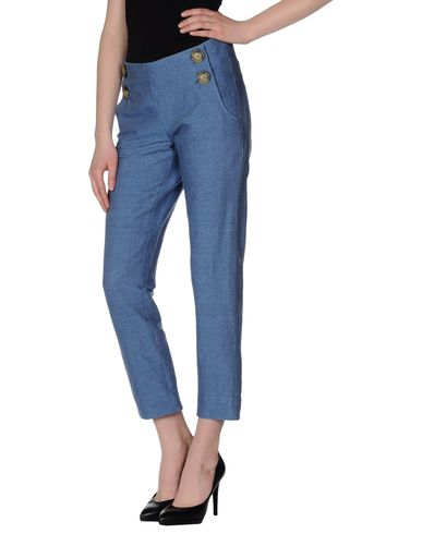 Vivienne Westwood Anglomania Casual Pants In Blue