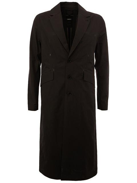 Yang Li Single Breasted Coat In Black