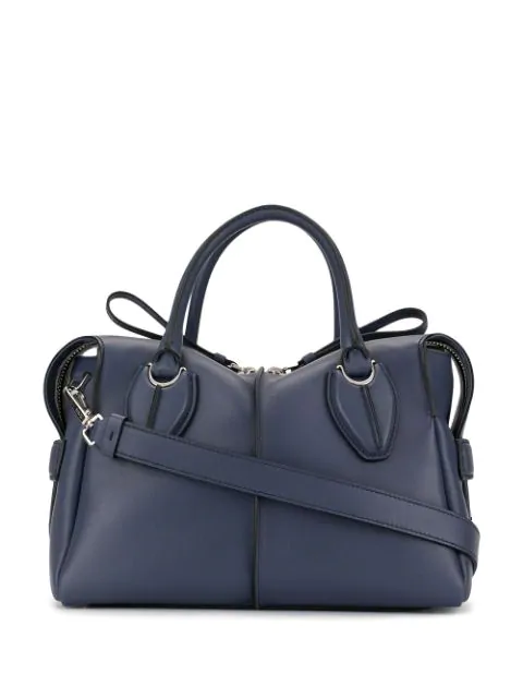 Tod's D-styling Tote Bag In Purple