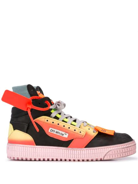 Off-White Off Court Security Tag Sneakers In 1088 Black/Multi
