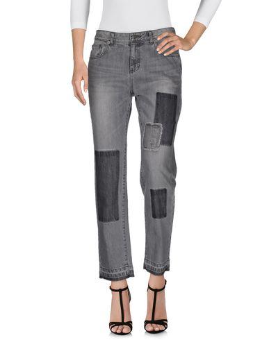 Sjyp Denim Pants In Grey