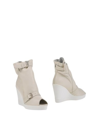 Hogan Ankle Boots In White