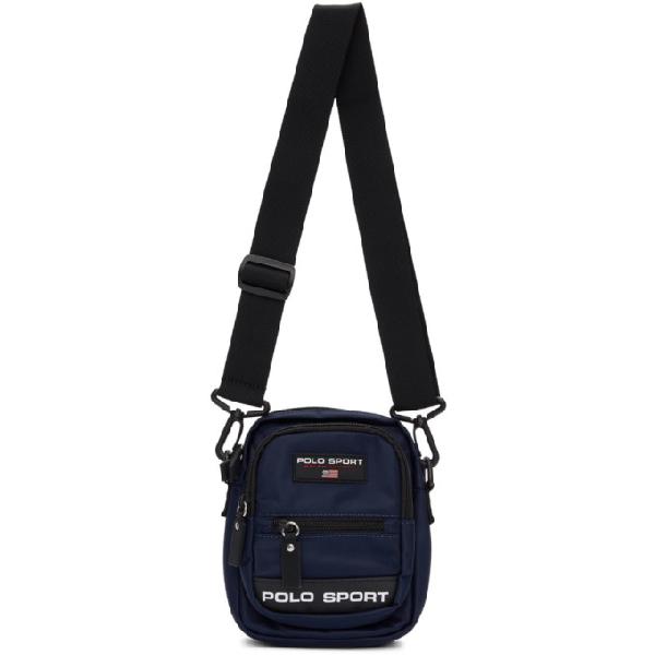 Polo Ralph Lauren Polo Sport Nylon Cross-Body Bag In Navy