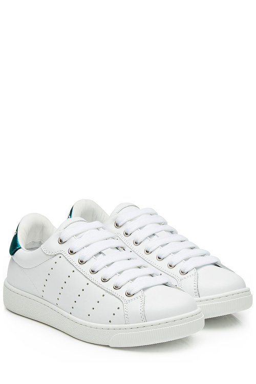 Dsquared2 White Leather Sneakers