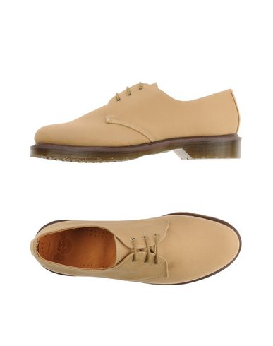 Dr. Martens Laced Shoes In Sand