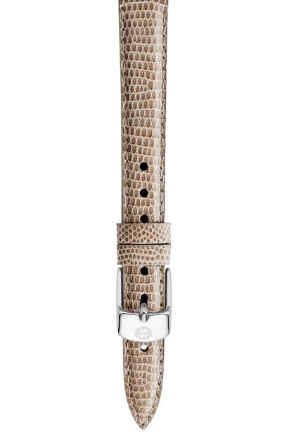 Michele Cashmere Lizard Watch Strap, 14Mm