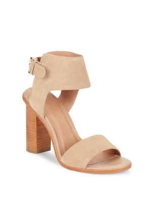 Joie Open Toe Ankle Strap Sandals In Buff