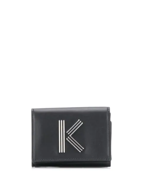 Kenzo 'K-Bag' Portemonnaie In Black