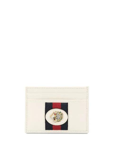 Gucci Rajah Cardholder In White