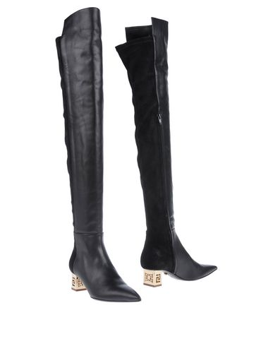 Versace Boots In Black