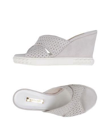 Casadei Sandals In Light Grey