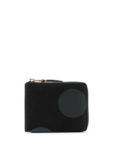 Comme Des GarÇons Dot Wallet In Black
