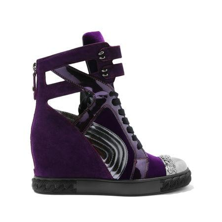 Casadei Sneakers In Eggplant