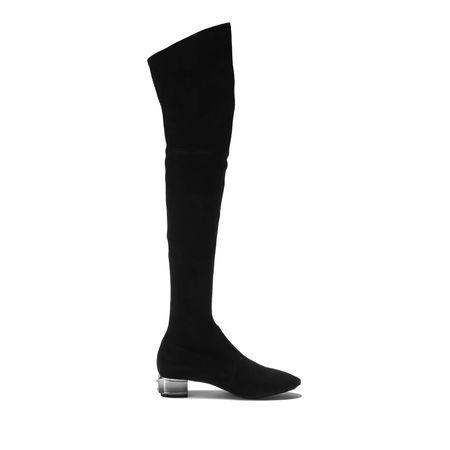 Casadei Krunk Over-The-Knee Boot In Black