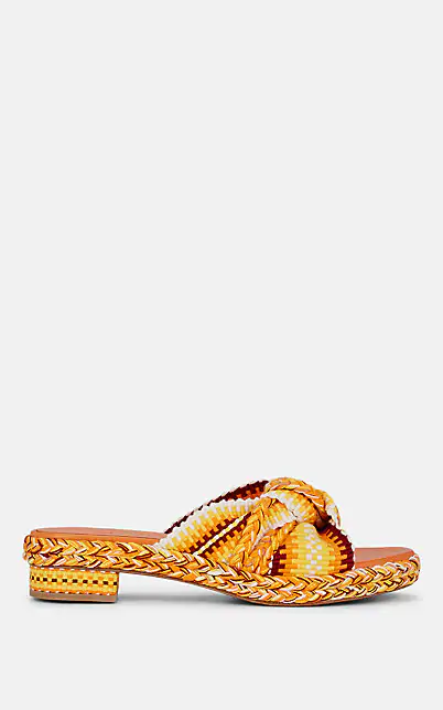 Antolina Women's Woven Slide Sandals In Yellow