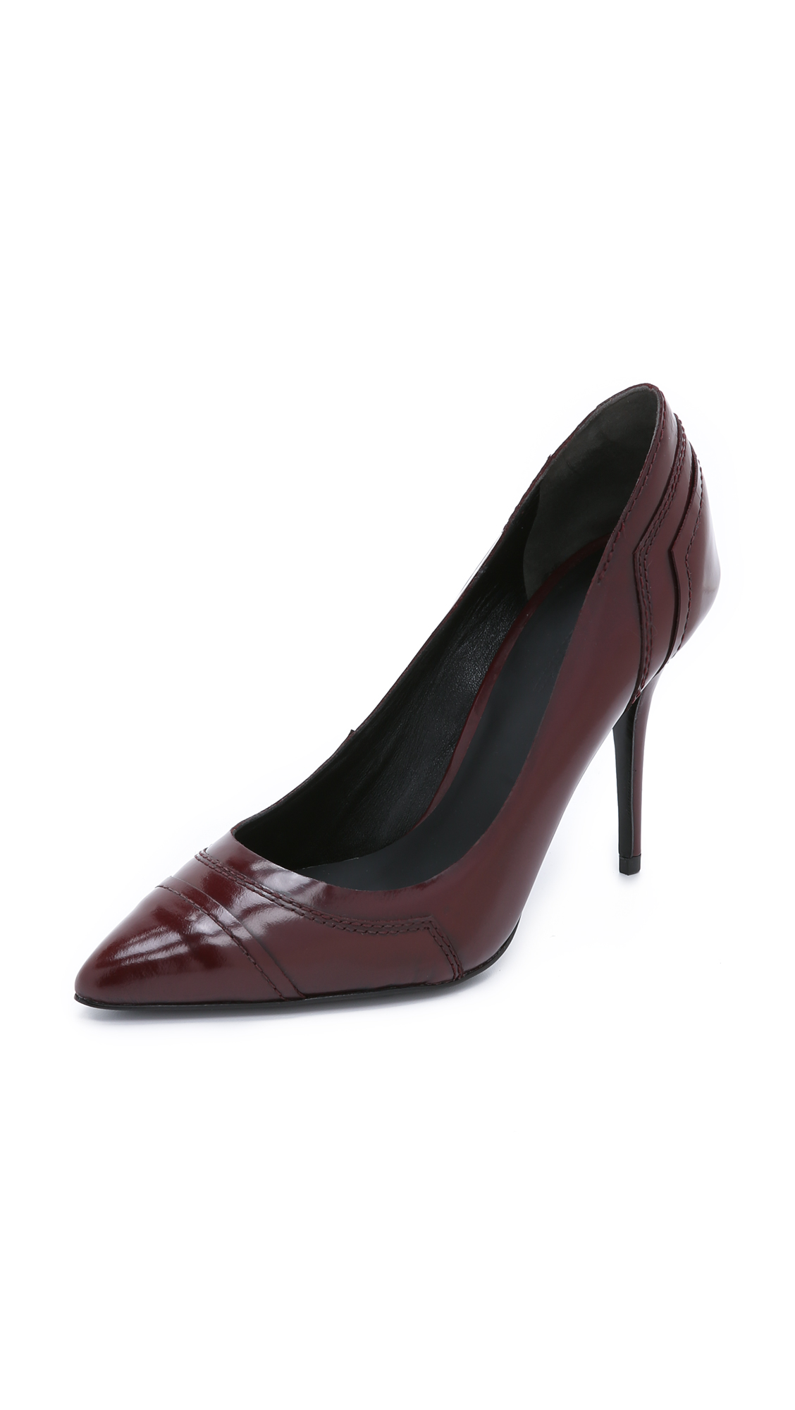 Alexander Wang Paulina Pumps In Oxblood