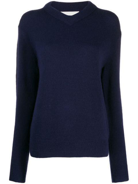 Les Coyotes De Paris Arian Sweater In Blue