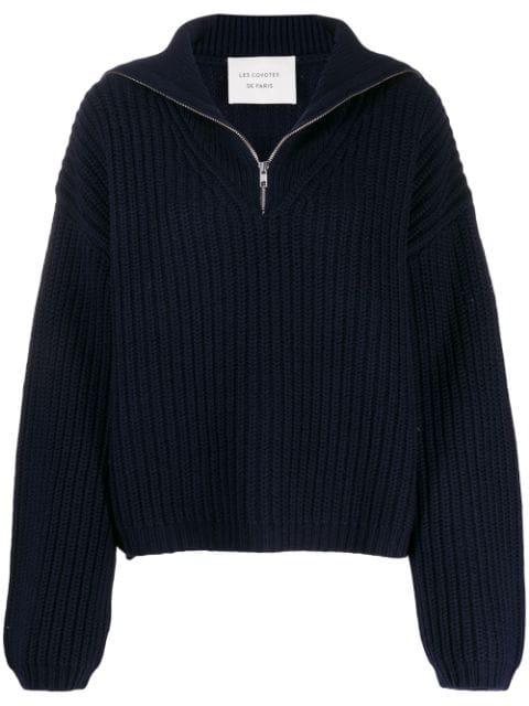 Les Coyotes De Paris Roisin Sweater In Blue