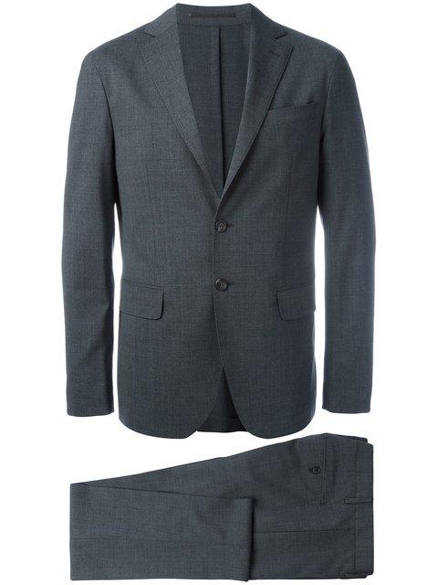 Dsquared2 Paris Two-piece Suit In Grey