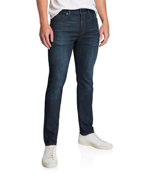 7 For All Mankind Men's Paxtyn Dark-Wash Skinny Jeans In Blue