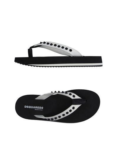 Dsquared2 Toe Strap Sandals In White