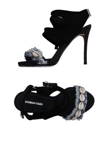 Dsquared2 Sandals In Black