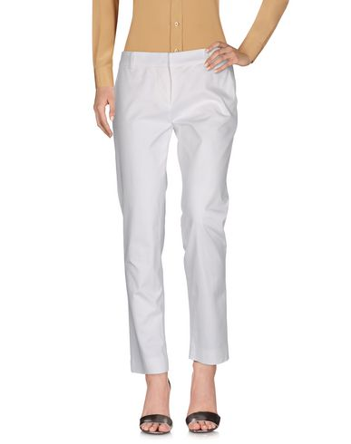 M Missoni Casual Pants In White