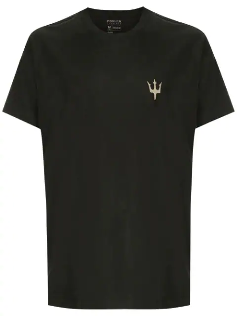 Osklen Regular Board Print T-shirt In Grey