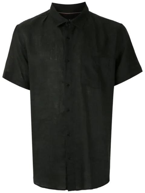 Osklen Short Sleeved Shirt In Black