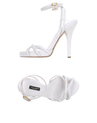 Dolce & Gabbana Sandals In White
