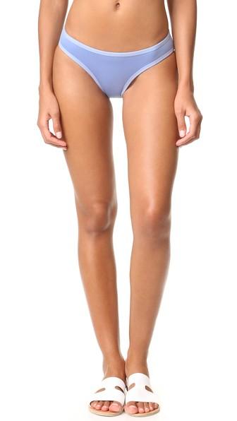 Adidas By Stella Mccartney Bikini Bottoms In Prism Blue