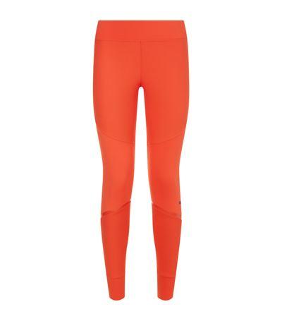 Adidas By Stella Mccartney Training Tight In Orange