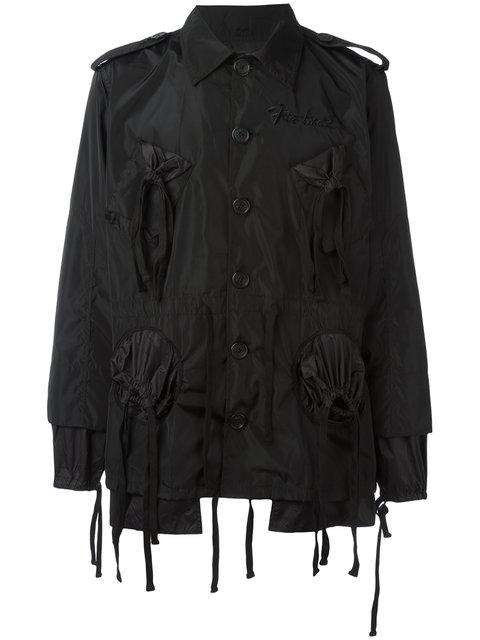 Ktz Embroidered Logo Jacket In Black