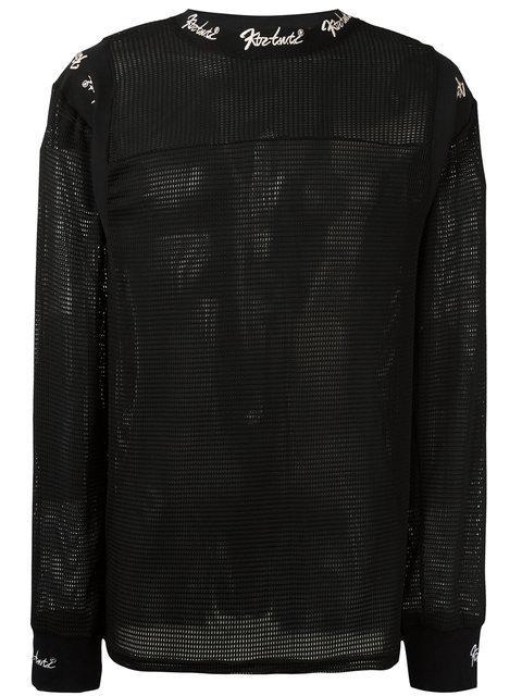 Ktz Ribbed Shoulder Sweatshirt