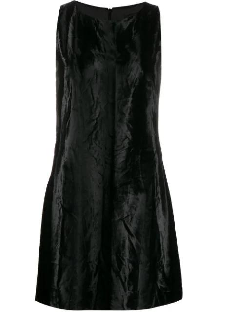 Versace '1990s Shift Dress In Black