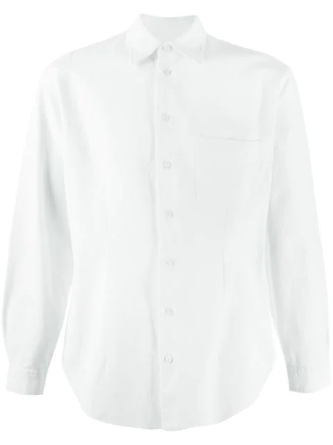 Pre-owned Giorgio Armani '1990s Pointed Collar Shirt In White