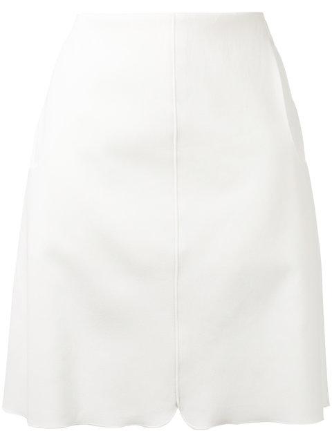 Giambattista Valli Front Pocket Skirt - White