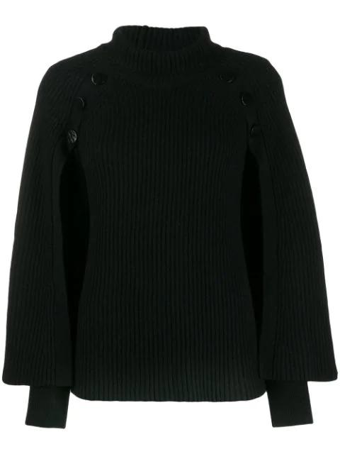 Paule Ka Button In Black