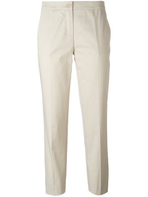 Etro Straight Cropped Trousers